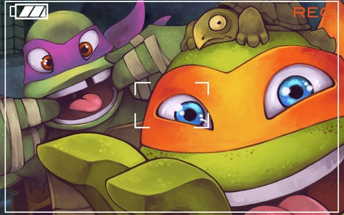 2012 Teenage Mutant Ninja Turtles wallpaper probably with anime titled Snapshot