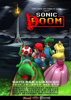 Sonic Doom (ft. Mario gang)