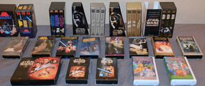 estrela Wars VHS Collection
