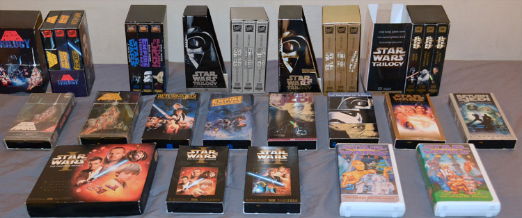Star Wars VHS Collection
