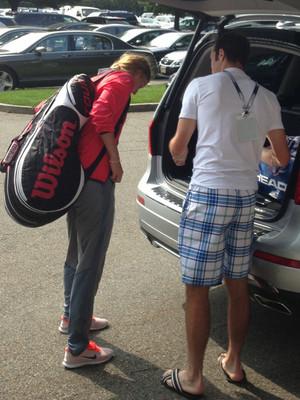 Stepanek, Kvitova Depart US Open