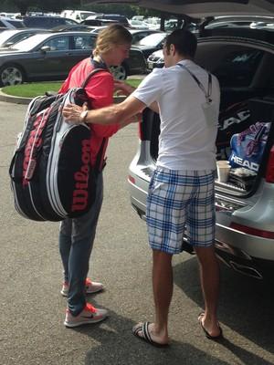 Stepanek, Kvitova Depart US Open..