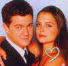 Joshua Jackson & Katie Holmes foto with a portrait entitled Suggestion icono