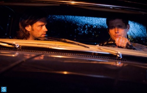 Supernatural wallpaper with a grand piano and a pianist titled Supernatural - Episode 9.01 - I Think I'm Gonna Like It Here - Promo Pics