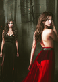TVD season 5 - katherine-pierce-and-elena-gilbert fan art