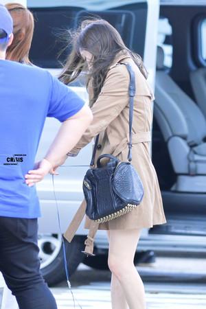 Taeyeon Airport 130913