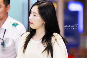 Taeyeon Airport 130915