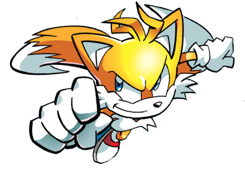 "Miles ""Tails"" Prower wallpaper probably containing anime called Tails"