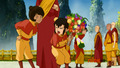 Tenzin and his family - avatar-the-legend-of-korra photo