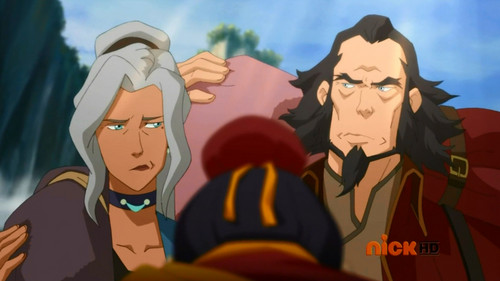 Avatar, La Légende de Korra fond d'écran probably with animé called Tenzin and his family