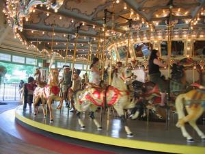 The 1921 Dentzel Carousel