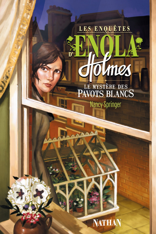 Enola Holmes Mysteries images Book III The Case of the Bizarre Bouquets HD  wallpaper and background photos