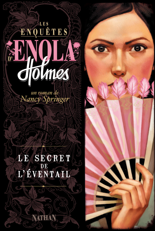 Enola Holmes Mysteries images Book IV The Case of the Peculiar Pink Fan HD  wallpaper and background photos