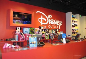 The disney Store Outlet at the Kittery Premium Outlet