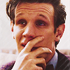 The Eleventh Doctor photo possibly with a portrait called The Eleventh Doctor Icons