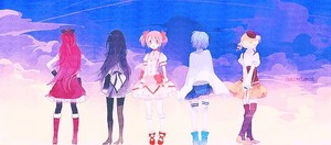 The Five Main Puella Magi
