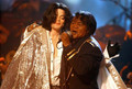 The Icon and his Idol - michael-jackson photo