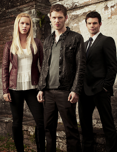 The Originals Hintergrund containing a business suit, a suit, and a well dressed person called The Originals Season 1 promotional poster