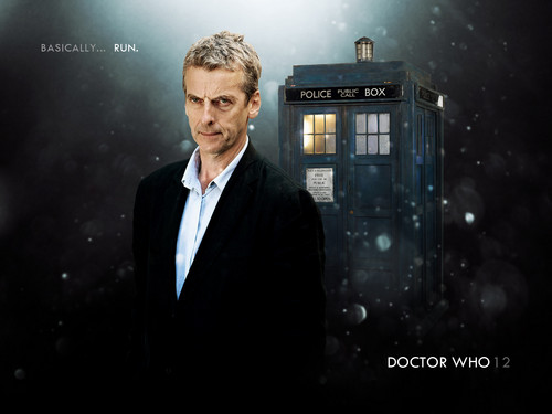 Doctor Who wallpaper containing a business suit, a suit, and a three piece suit called The Twelfth Doctor