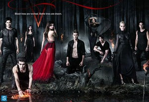 The Vampire Diaries - Season 5 - Promotional Poster