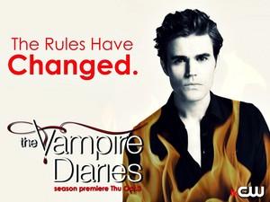 The Vampire Diaries Season 5 Promotional 바탕화면