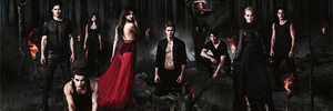 The Vampire Diaries Season 5 promotional shot