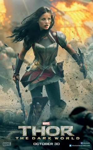 Thor: The Dark World Poster - Lady Sif