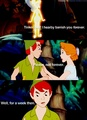 Tink get banished  - peter-pan photo