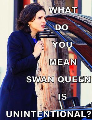 Unintentionally swan Queen