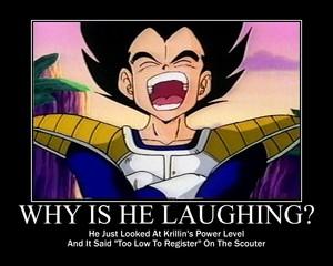 Vegeta Laughing Meme