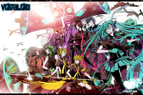 Vocaloid wallpaper entitled Vocaloid-Love Is War