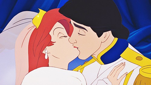 the little mermaid wallpaper possibly with anime called Walt disney Screencaps - Princess Ariel & Prince Eric