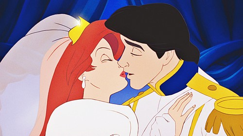 The Little Mermaid wallpaper entitled Walt Disney Screencaps - Princess Ariel & Prince Eric