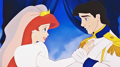 The Little Mermaid wallpaper with anime called Walt Disney Screencaps - Princess Ariel & Prince Eric