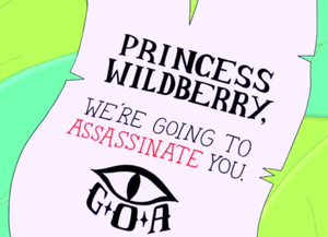 Which Assassin Sent This To Wildberry Princess