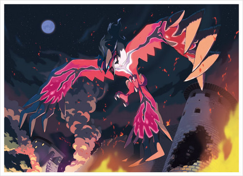 Pokemon Wallpaper Possibly With Anime Titled Xerneas And Yveltal Arts Added To Their Japanese Pages