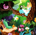 alice in wonderland - alice-in-wonderland fan art