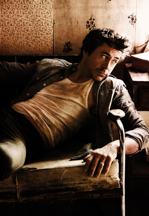 best looking man: Downey