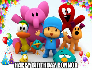 connor bday