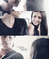 delena - tv-couples fan art