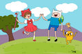 do you like adventure time, too? - cardcaptor-sakura fan art
