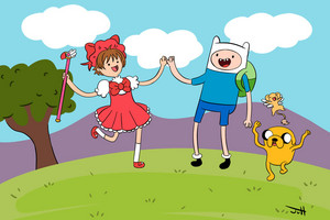 do 你 like adventure time, too?