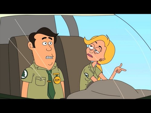 Brickleberry wallpaper containing anime titled drunk Ethel