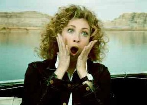 facial expressions......................I CHOSE आप RIVER SONG!