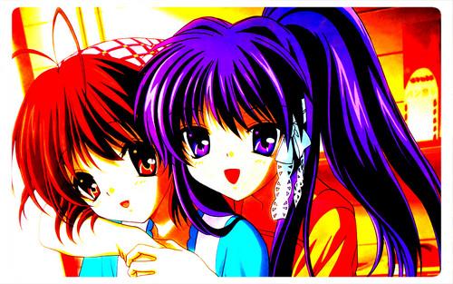 Clannad and Clannad After Story karatasi la kupamba ukuta with anime called Marafiki forever