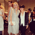 gg cast @ NY Fashion Week - gossip-girl photo