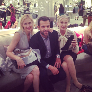 gg cast @ NY Fashion Week