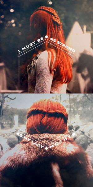 Sansa & Catelyn