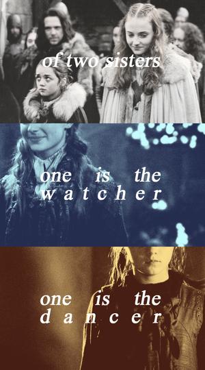 Arya & Sansa Stark