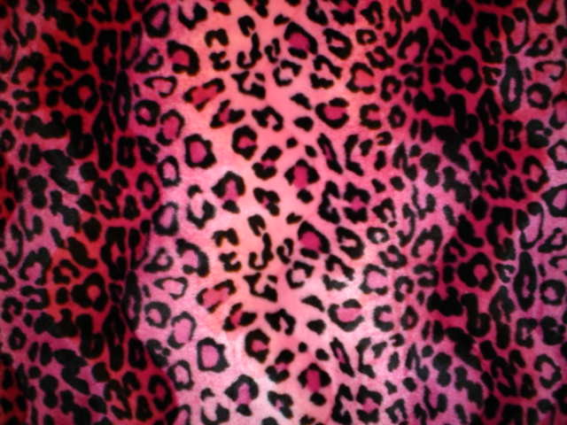 Colorful leopard print wallpaper